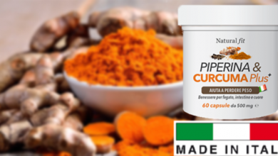 Piperina e Curcuma Plus come si usa
