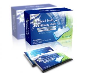 dental white strips prodotto
