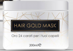 hair gold mask prodotto